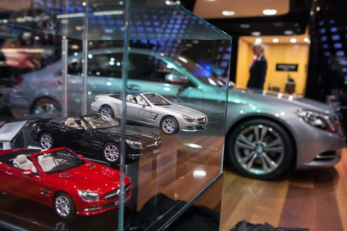 Mercedes-Benz Gallery Showroom