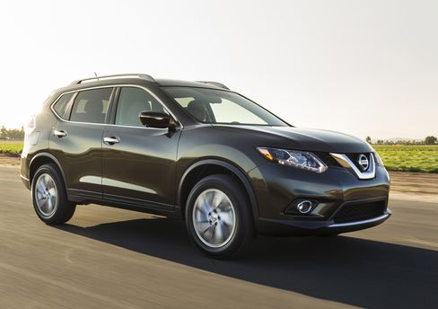 Nissan Revamps Rogue to Challenge Honda, Ford in Small SUVs