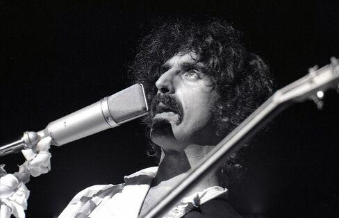 Musician Frank Zappa