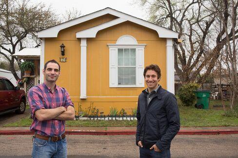 Dan Weissman, left, and David Shlachter of Jaffa Parks