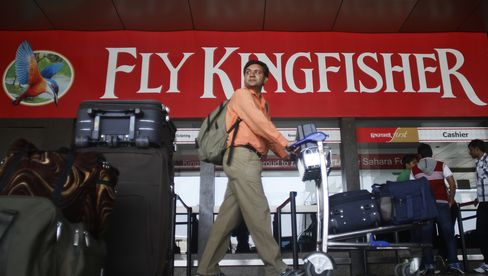 Kingfisher Air Falls After Quarterly Loss Widens