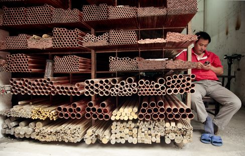 Copper Store in China