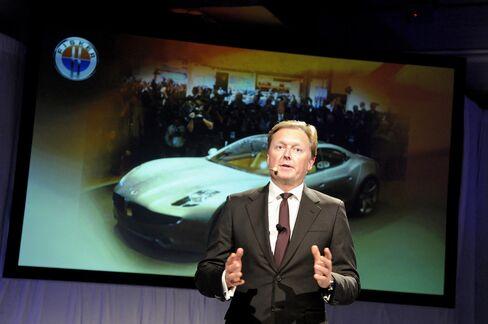 Fisker Automotive Co-Founder Henrik Fisker