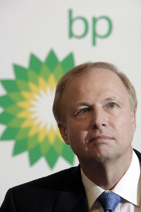 Robert Dudley, chief executive officer of BP Plc.