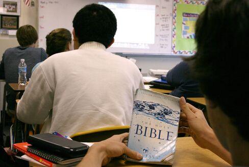 Bible Class at Ben Lippen High School