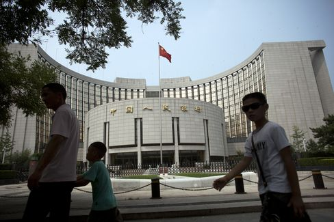 China New Lending Is More-Than-Estimated 586.8 Billion Yuan
