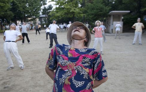 Want to Play Sports at 86? Be as Nice as a Tokyo Widow