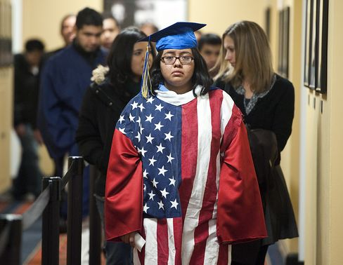 Senators' 2014 Campaigns Complicated by U.S. Immigration Rewrite