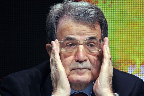 Romano Prodi, Italy's former prime minister