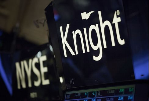 Knight $440 Million Loss Sealed by New Rules on Canceling Trades