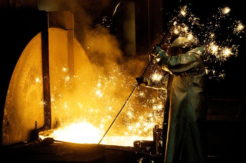 Big Coal Faces Steel Slowdown Amid Shale-Gas Pain