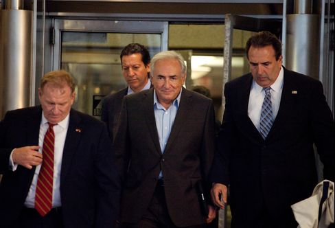 Strauss-Kahn Moves After New York Judge Told of Agreement