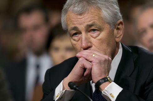 U.S. secretary of defense nominee Chuck Hagel