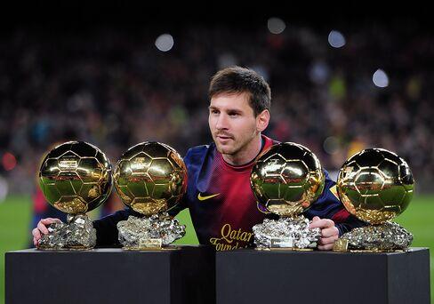 Soccer Forward Lionel Messi