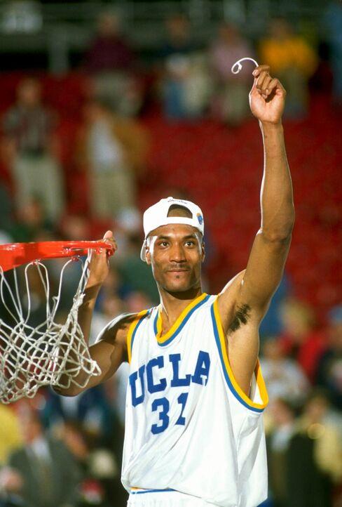 Former University of California-Los Angeles Forward Ed O'Bannon