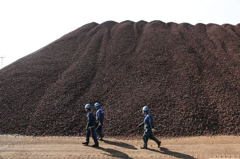Iron Ore Rallying Most Since '10 as China Rebounds