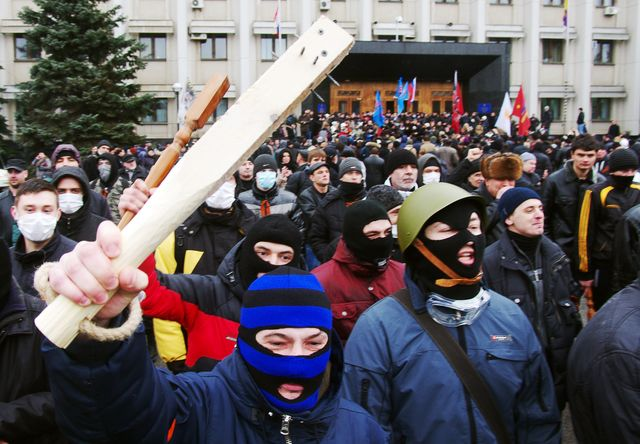 Photographer: Alexey Kravtsov/AFP/Getty Images