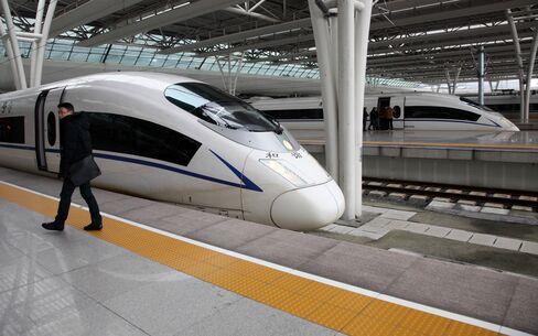 High Speed Train in Shanghai