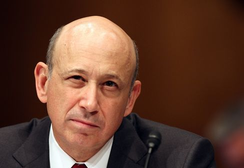 Goldman Sachs Group CEO Lloyd Blankfein