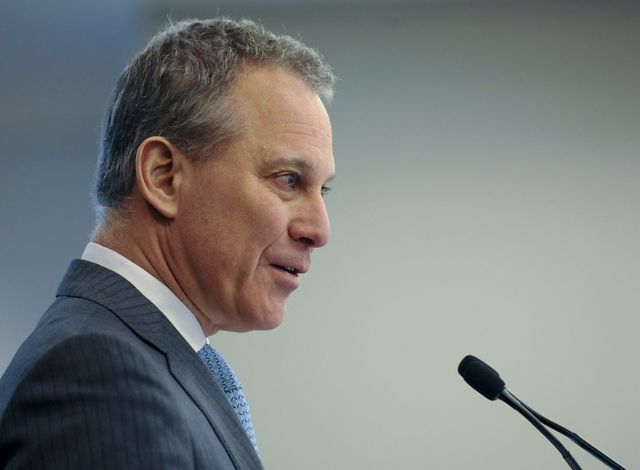 Eric Schneiderman obviously has his own thoughts on the matter.