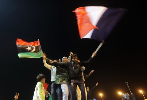 Qaddafi Cease-Fire Bid Fails to Deter Allies