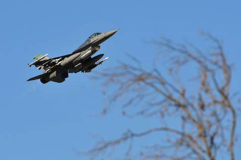 U.S. Air Force Says Searching for Pilot of F-16 Over Adriatic