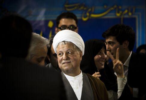 Presidential Candidate Ali Akbar Hashemi Rafsanjani