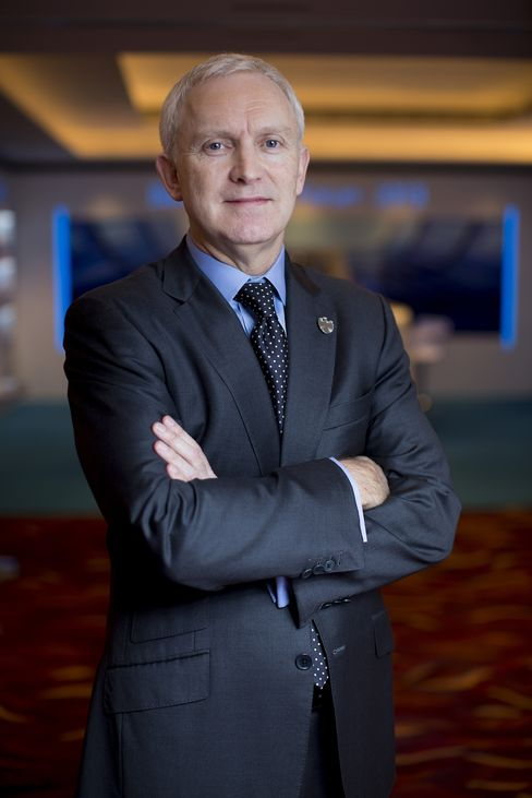 Barclays Plc CEO For Asia-Pacific Robert Morrice