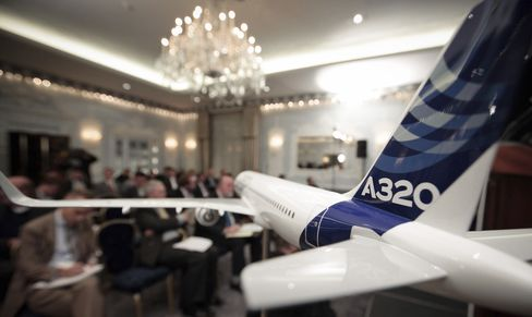 Airbus Looks at Building 50 A320s a Month as Forecast Is Rai