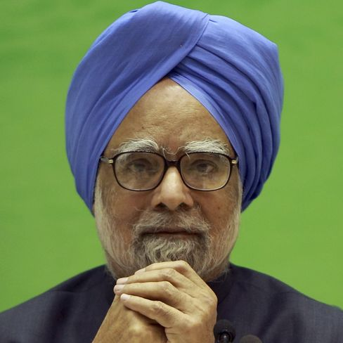 Manmohan Singh, India's prime minister