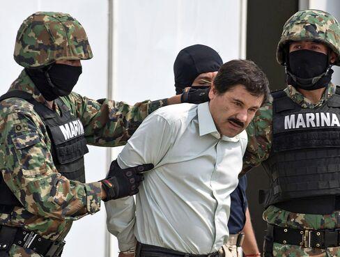 Alleged Sinaloa Cartel Leader Joaquin Guzman