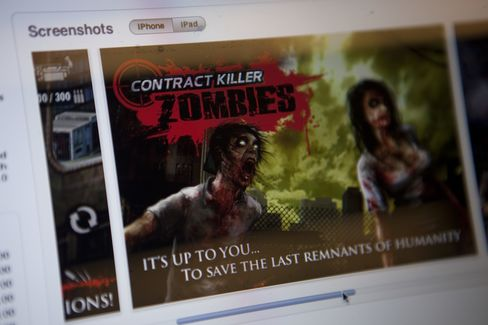 Zombies in Play as Zynga Deal Sparks Glu Mobile Talk