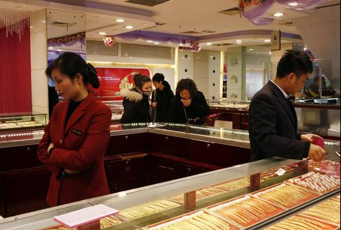 China's Gold Demand Seen Rising 13% as Council Pares Target