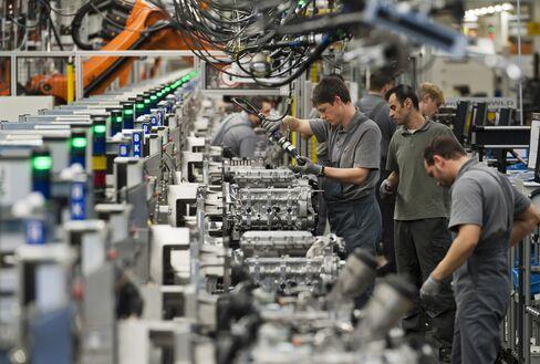 Porsche Automobile Production in Stuttgart