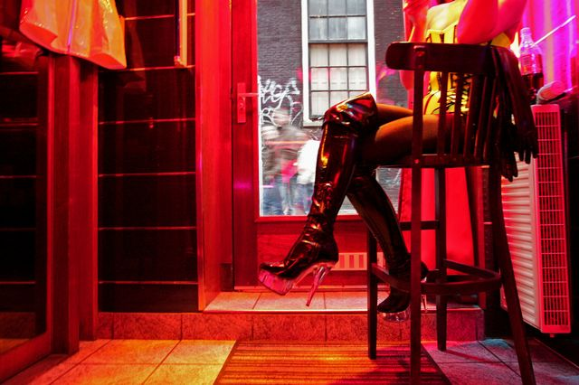 Now sex workers can do their part for Europe's GDP. Photgrapher: AFP/Getty Images