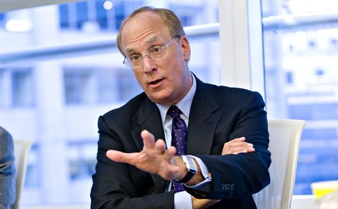 BlackRock Inc. CEO Larry Fink
