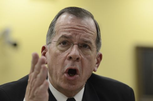 U.S. Joint Chiefs of Staff Chairman Mike Mullen