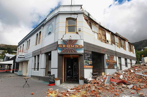 New Zealand Quake May Boost Asia-Pacific Reinsurance Prices
