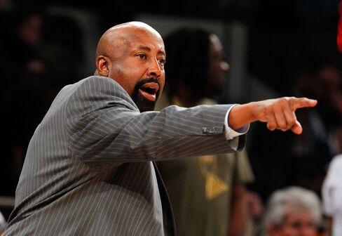 NY Knicks Coach Mike Woodson