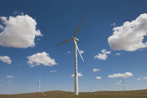 Sinovel Wind Turbines Inner Mongolia China