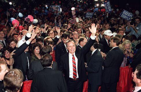 George H.W. Bush Wins Election in 1988