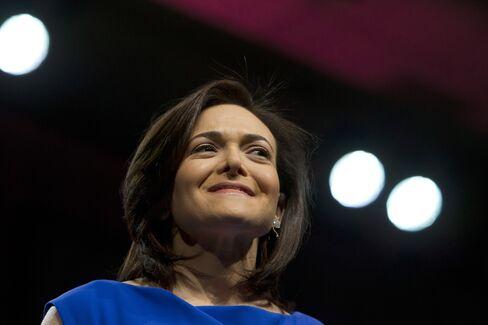 Facebook Inc. COO Sheryl Sandberg