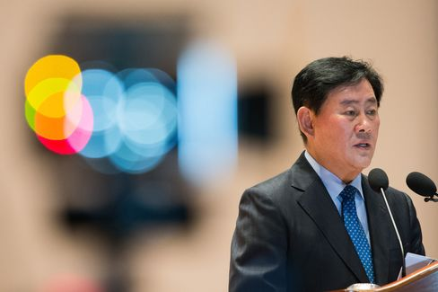 South Korean finance minister Choi Kyung Hwan