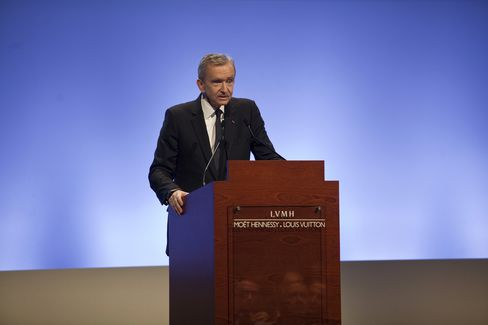 LVMH Moet Hennessy Louis Vuitton SA CEO Arnault