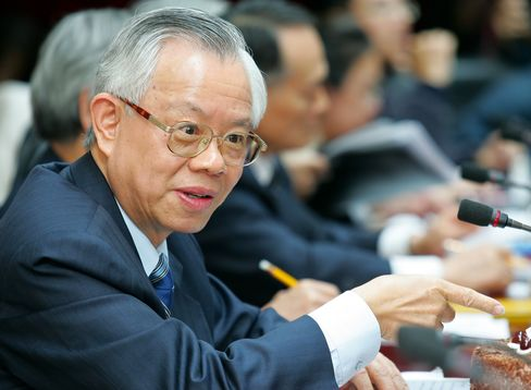 Central Bank of Taiwan Governor Perng