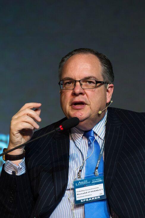 Fidelity Investments Asset Management Pres. Ronald O'Hanley