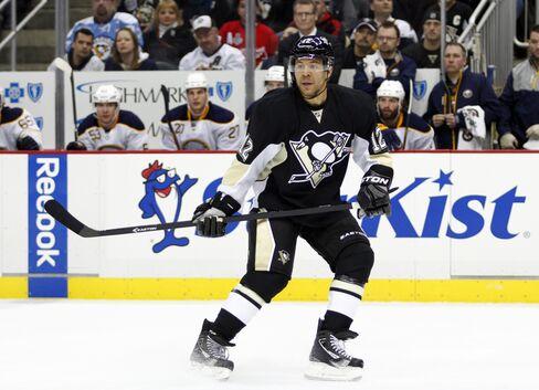 NHL Player Jarome Iginla