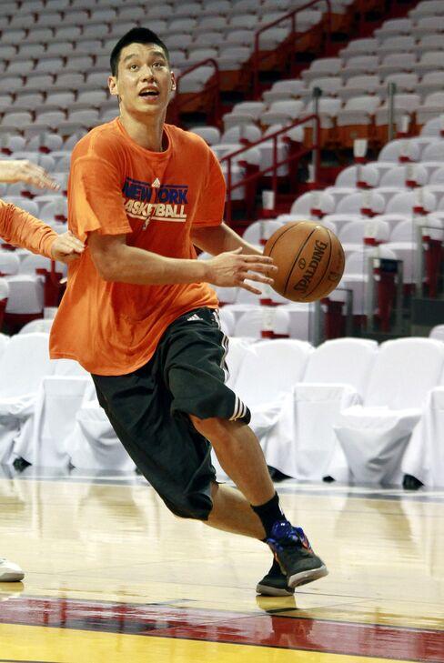 New York Knick's Jeremy Lin