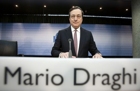 Draghi's ECB Rejects Geithner-IMF Push for More Crisis-Fighting