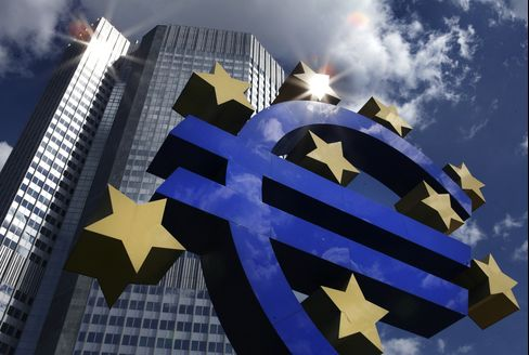 ECB Says Euro-Area Demand for Dollar Loans Jumps